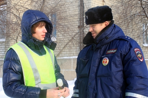 ВПензе милиция приглашает кучастию вакции «Студенческий десант»