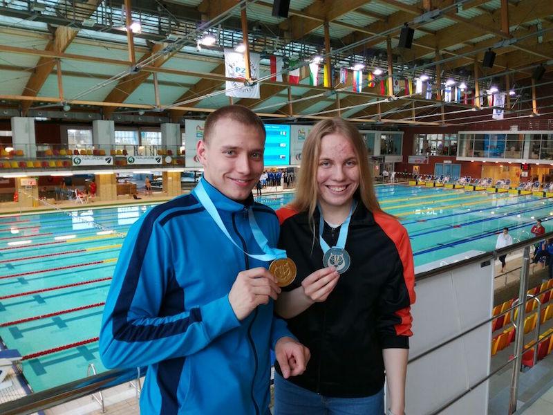 Спортсмены края завоевали 7 наград вподводном спорте