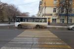 Сегодня утром в Каменске-Уральском на пешеходном переходе автобус сбил пешехода