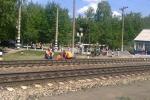 На двух каменских железнодорожных переездах, которые закроют 1 июня, начались подготовительные работы