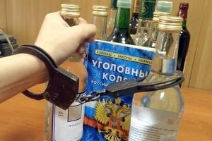 Житель Каменска-Уральского, укравший две бутылки водки, был пойман полицейскими