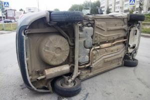 Сегодня днем в Каменске-Уральском пострадала пассажирка отечественной легковушки