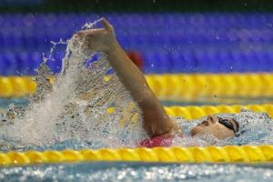 На первом этапе Кубка мира по плаванию в активе Дарьи Устиновой из Каменска-Уральского два эстафетных серебра