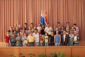 В Синарском районе Каменска-Уральского отметили жильцов лучших дворов