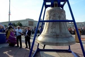 Самый большой колокол Каменска-Уральского установят на звоницу Свято-Троицкого собора 27 августа