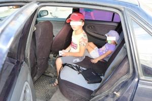 Сегодня в Каменске-Уральском за два часа выявлено более тридцати нарушений при перевозке детей в автомобилях