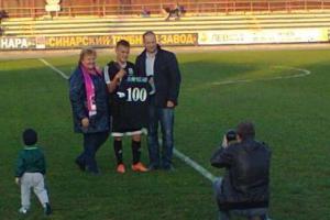 Победа футбольной «Синары» из Каменска-Уральского ознаменовалась личным рекордом Виктора Ляхова