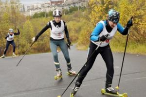 Первенство города по лыжероллерному спорту в Каменске-Уральском установило несколько рекордов