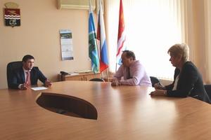 Глава Каменска-Уральского встретился с министром здравоохранения Свердловской области