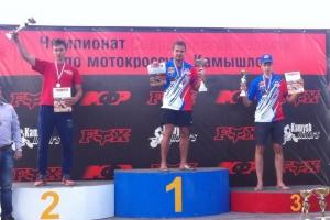 Каменцы завоевали награды всех достоинств на первом этапе Кубка России по мотокроссу
