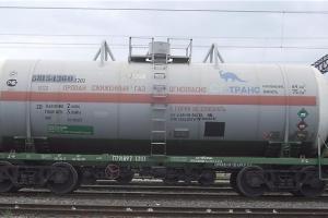 Вчера в Каменске-Уральском с рельсов сошли локомотив и две цистерны с пропаном