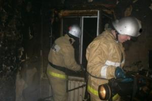 Сегодня ночью произошел пожар в доме на улице Механизаторов в Каменске-Уральском