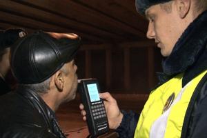 В выходные сотрудники ГИБДД в Каменске-Уральском опять активно начнут ловить пьяных водителей