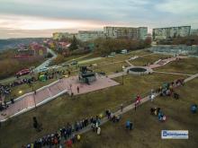 В Каменске-Уральском отметили 50-летие главного городского символа – монумента