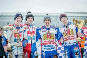 Команда из Каменска-Уральского выиграла чемпионат России по ледовому спидвею в суперлиге