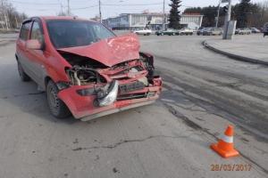 28 марта в центре Каменска-Уральского произошло ДТП, в котором пострадал один человек