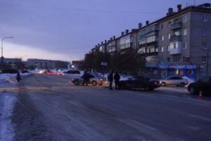 Сегодня утром в Каменске-Уральском в ДТП пострадала 31-летняя автолюбительница