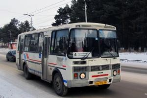 Из-за перекрытия улицы Железнодорожной, в Каменске-Уральском изменился маршрут автобусов №4