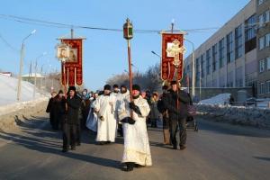 Иордани оборудовали, порядок обеспечили. Крещенский праздник в Каменске-Уральском проходит на должном уровне