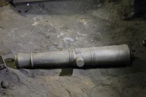В Пермском крае сделали копию пушки, которую отлили для экспедиции Беринга в Каменске