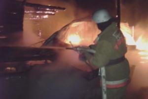 14 января вечером под Каменском-Уральским во время пожара погиб хозяин частного дома