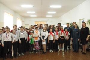 В Каменске-Уральском дети с ограниченными возможностями здоровья определили лучшую дружину юных пожарных