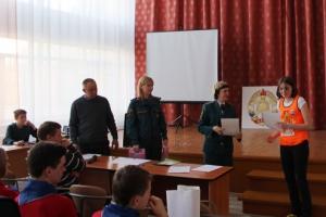 В Синарском районе Каменска-Уральского определили лучшую дружину юных пожарных