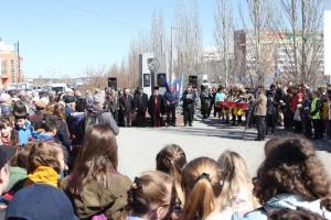 В Каменске-Уральском прошел митинг, посвященный тридцать первой годовщине аварии на Чернобыльской АЭС