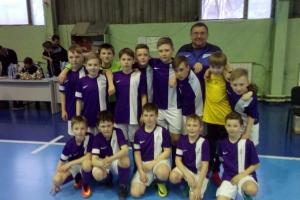 Команда «Удача-СДЮСШОР» из Каменска-Уральского выиграла бронзу первенства области по мини-футболу