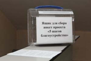 За десять дней полторы тысячи жителей Каменска-Уральского приняли участие в опросе в рамках проекта «5 шагов благоустройства». Предварительные итоги