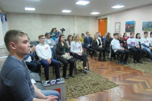 Молодогвардейцы Каменска-Уральского подвели итоги своей работы в этом году