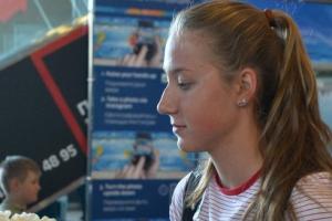 Дарья Устинова из Каменска-Уральского завоевала еще одну медаль на чемпионате России в плавании