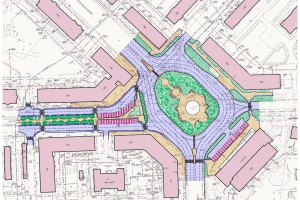 Представлен дизайн-проект благоустройства площади Горького в Каменске-Уральском
