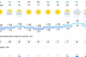 Морозы пока не покинут Каменск-Уральский, а снега не будет еще неделю