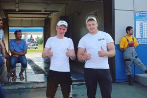 Команда из Каменска-Уральского стала призером областного конкурса автомойщиков