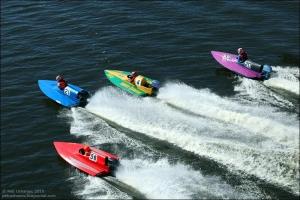 Три золота завоевали представители Центра технических видов спорта из Каменска-Уральского на Кубке России по водно-моторному спорту