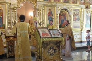 Накануне в Каменске-Уральском почтили память священномучеников Каменской епархии