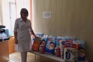 Полицейские Каменска-Уральского провели две благотворительные акции