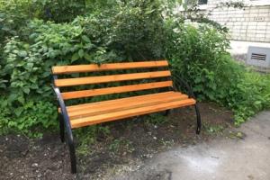 118 новых скамеек будут установлены во дворах Каменска-Уральского