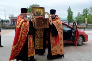 В Каменск-Уральский прибыла святыня, спасающая от телесных недугов