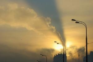 Смог в очередной раз накрыл Каменск-Уральский. На этот раз штормовое предупреждение действует до вечера сегодняшнего дня