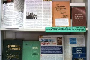 В Каменске-Уральском уникальная книжная выставка-рекомендация, посвященная Году экологии