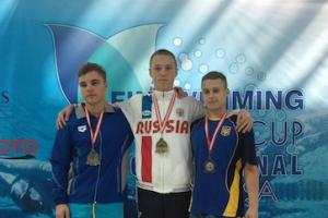 Три медали завоевал представитель Каменска-Уральского на Кубке мира по подводному плаванию