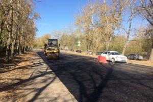 В четверг на ремонте стыка улиц Ленина и Лермонтова в Каменске-Уральском дорожники начнут работать в две смены