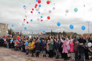 В Каменске-Уральском почтили память ветеранов, одержавших победу над фашизмом во Второй мировой войне, в рамках акции «Голубь мира»