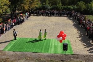 Новая площадка для народных игр начала функционировать на территории школы-интерната № 27 в Каменске-Уральском