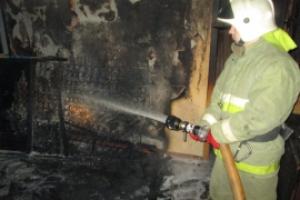 Утром в воскресенье в Каменске-Уральском горело кафе на улице Рябова. Поджог?