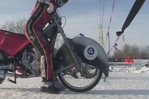 Командное первенство России по ледовому спидвею среди юниоров