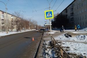 17 февраля в Каменске-Уральском в ДТП пострадала 55-летняя пешеходка