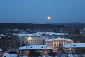 В марте жители Каменска-Уральского увидят сразу два полнолуния